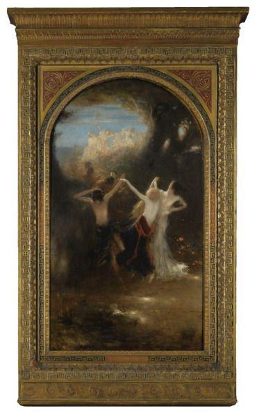 .:. Γύζης Νικόλαος – Gyzis Nikolaos [1842-1901]DANCE OF THE NYMPHS_1