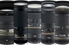 The first three lenses I would buy for my new Nikon DSLR would be the 35mm f/1.8 ($200), the 70-300mm ($600)and either a macro, wideangleor walkaround lens, depending on my needs. Done intellige…