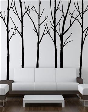 The Zazous Black Winter Trees Wall Sticker At Sopota Edwards By Nilsson  Campbell Rest U0026 Play (normally