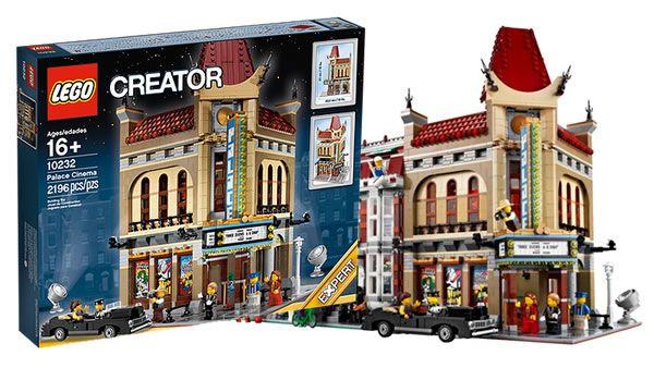 Dernières séances pour le set LEGO Creator Expert 10232 Palace Cinema: C'est LEGO qui l'annonce sur sa page facebook, le set LEGO… #LEGO