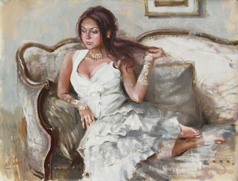 """Maria In Vintage Dress"" 𝓘𝓡è𝓝𝓔  𝓢𝓗𝓔𝓡𝓘,  ηéε εη 1968 εη υкяαιηε яσмαηтιqυε, ιмρяεssισηηηιsтε... ηεω яεηαιssαηcε...  ωωω.тυттαят... ωωω.ιяεηεsнεяι.cσм"