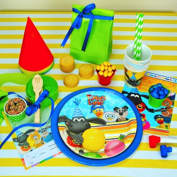 The Party Cupboard : Timmy Time Birthday Party : Timmy Time Party Supplies