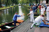 שוק הגבינות בעיירה אדם Stichting Kaasmarkt Edam
