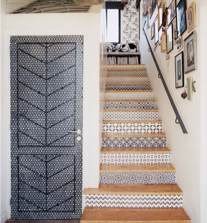 5 Favorites: Spanish-Style Tiled Stair Risers