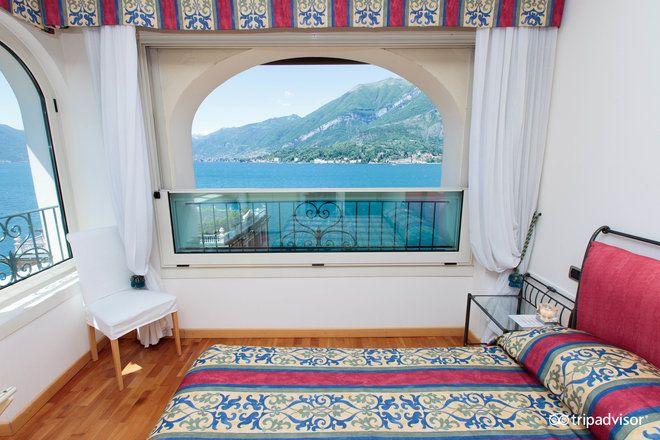 L'hotel a due stelle Bellagio regala una fantastica dall'alto sulla sponda occidentale del Lario, sito appena sopra alla zona del molo e a due passi dalle viuzze del centro