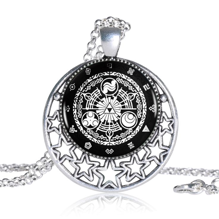 Find More Pendant Necklaces Information about The Legend Of Zelda Logo Round Pendant Women Choker Statement Silver Necklace For Men Dress Accessories,High Quality silver nameplate necklace,China silver handcuff necklace Suppliers, Cheap silver turquoise necklace from DreamFire Store on Aliexpress.com