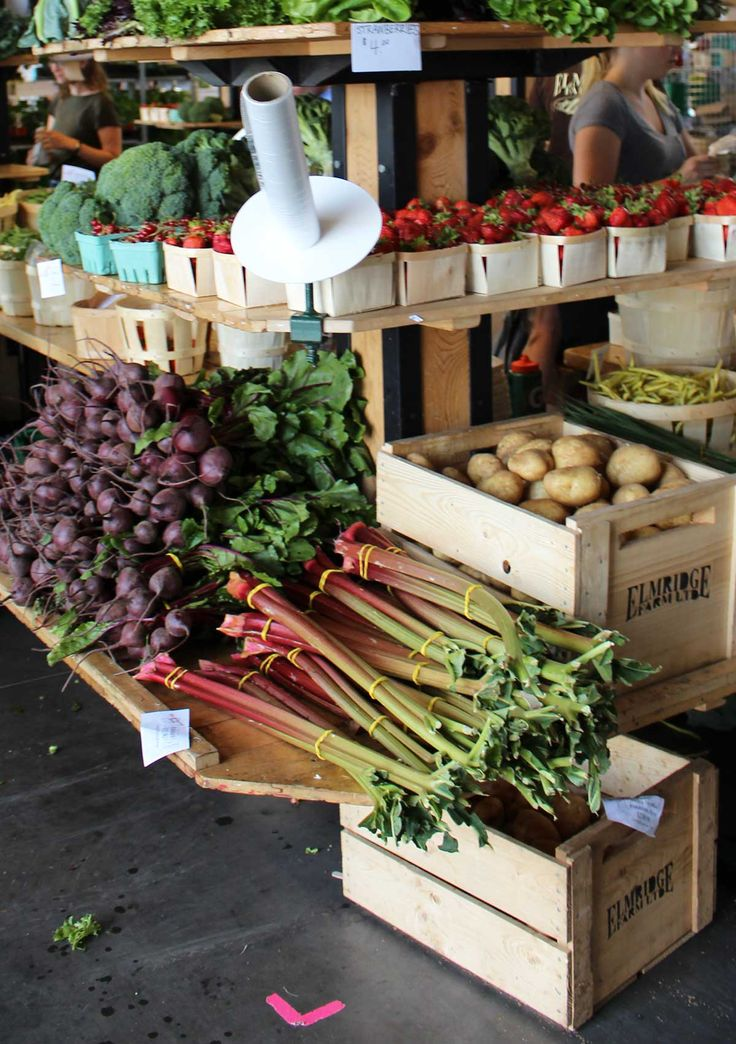 Waterfront Farmer's Market in Halifax, Nova Scotia