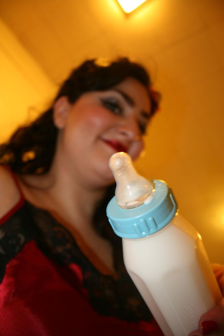 adult babys dring from bottles