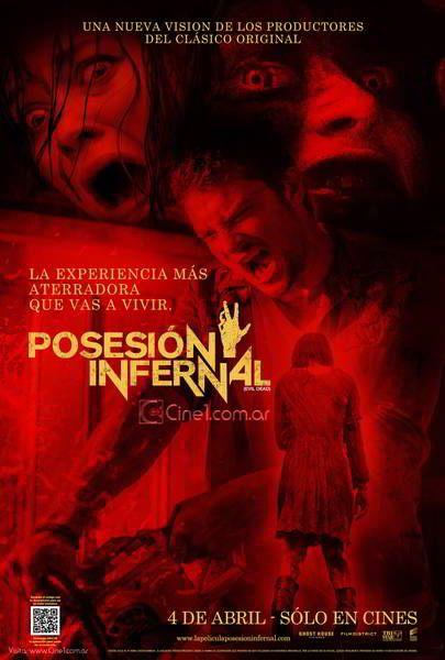 ver Posesion infernal (Evil dead) 2013 online descargar HD gratis español latino subtitulada