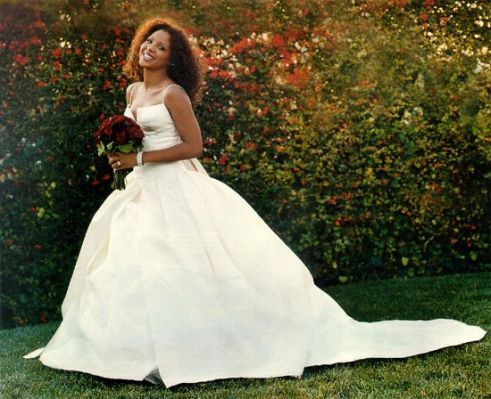 Singer Toni Braxton models the