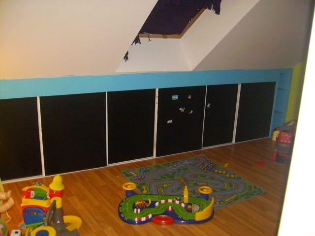 1000 images about meubles rangement sous pente en carton on pinterest diy living room. Black Bedroom Furniture Sets. Home Design Ideas