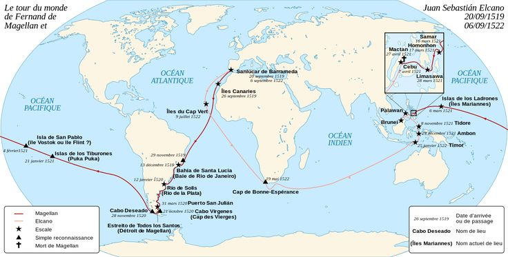 Magellan Elcano Circumnavigation-fr - Fernand de Magellan — Wikipédia