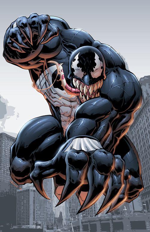 Venom by DashMartin.deviantart.com on @deviantART