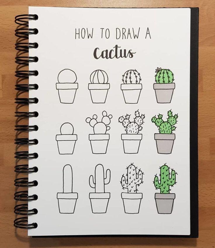 Bullet Journal Doodles: 24 tolle Doodle-Ideen für Anfänger und Fortgeschrittene