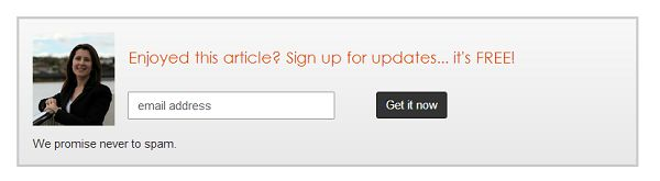 The super easy way to create beautiful newsletter opt-in boxes