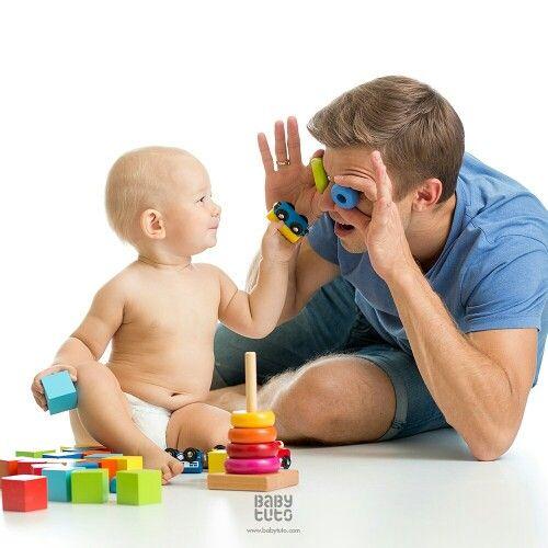 #BabyTips | La estimulación que le des a tu bebé le dará seguridad, agilidad mental y confianza, ¡y es mejor si es jugando!  ¿Cuál es el juego que más juegan juntos? ☝ ¡Usa #JuegamosA...!