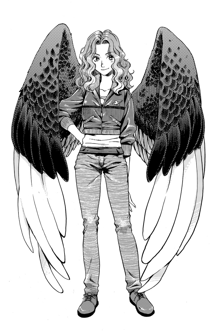 Character design for Max, of the Maximum Ride manga series.