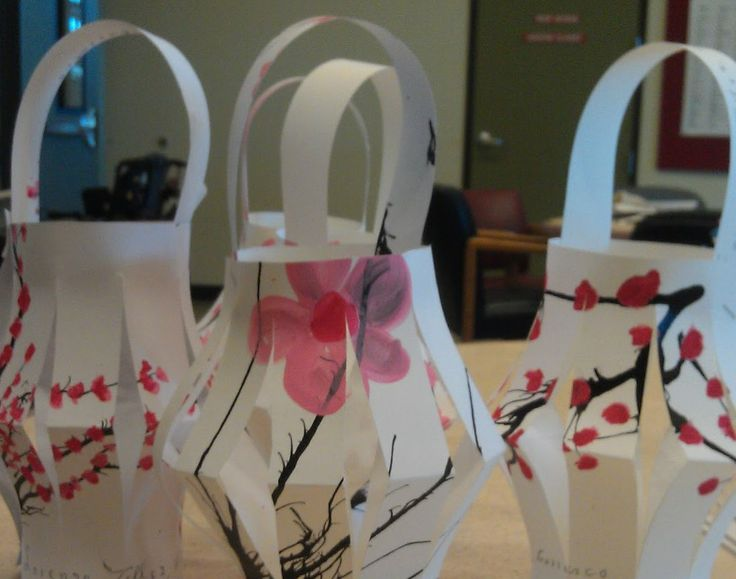 Art & Soul: Chinese New Year Lanterns  This project isn't for the faint of heart! Blowing ink around with a straw is not easy, but with a little effort, can be done. And the results are usually pretty amazing!