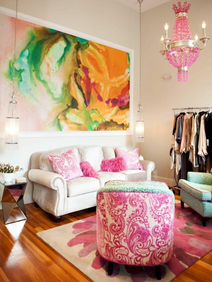 Die besten 25+ eklektisches Wohnzimmer Ideen auf Pinterest - wohnzimmer ideen pink