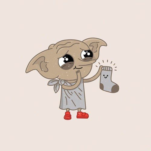DOBBY AWWW SO CUTE DOBBY IS A FREE ELF