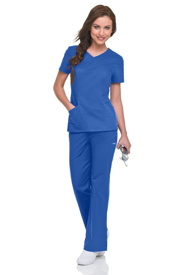 Landau Smart Stretch Garment Set in PERI #landau #uniforms #medical #scrubs #nurse #nursing #rn #lpn #vet #tech #dental #hospital #doctor #rsvlmedical