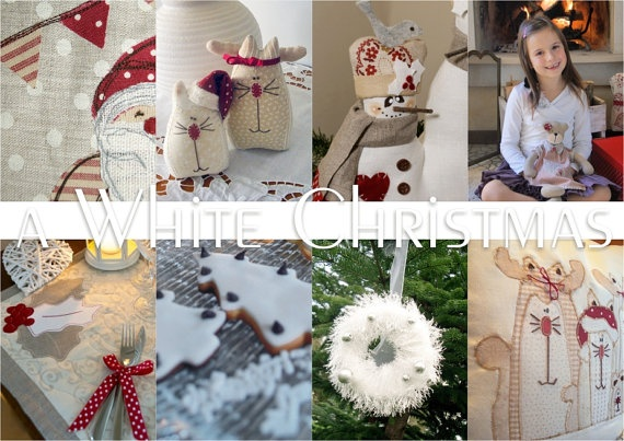 EPATTERN A WHITE CHRISTMAS Christmas by VERONICACOUNTRYLIFE, €16.00
