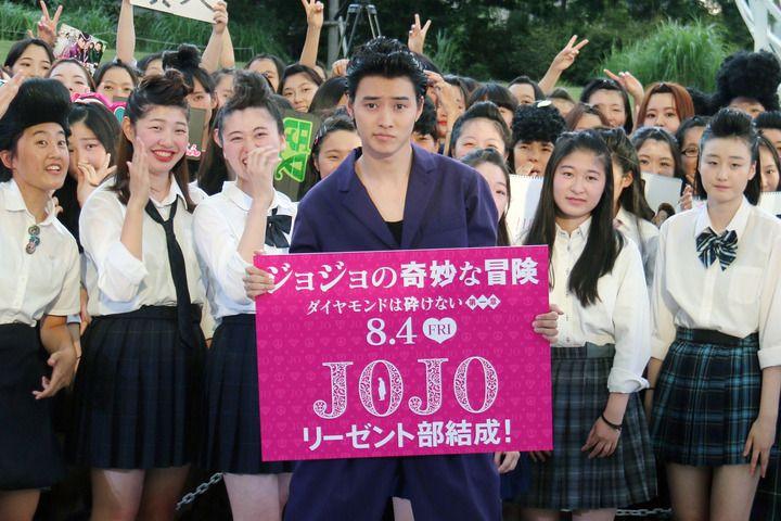 俳優の山崎賢人さんが19日、東京都内で行われた映画「ジョジョの奇妙な冒険 ダイヤモンドは砕けない 第一章」(三池崇史監督、8月4日公開)のキックオフイベントに...