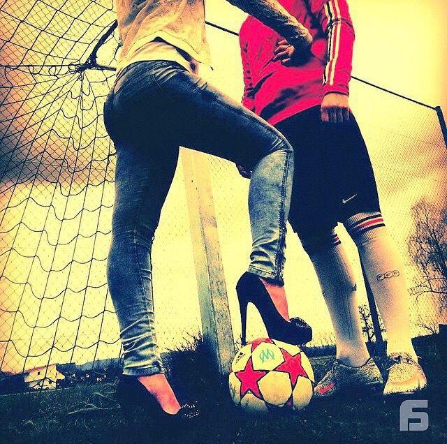 Pareja Futbol Futbol Pinterest Soccer Couples Couple Goals