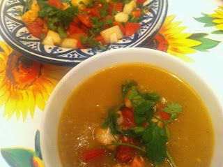 Big Cook... Tiny Kitchen: Vegetarian 5:2 Fast Diet Recipe: Moroccan Spiced Butternut Squash Soup