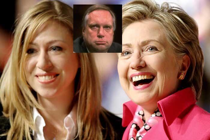HUGE Scandal – Chelsea isn't Bill Clinton's Daughter?  Read more: http://www.thepoliticalinsider.com/huge-scandal-chelsea-isnt-bill-clintons-daughter/#ixzz3g5DvMFdF
