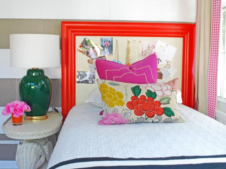 214 best images about unique headboards on pinterest diy for Diy bulletin board for bedroom