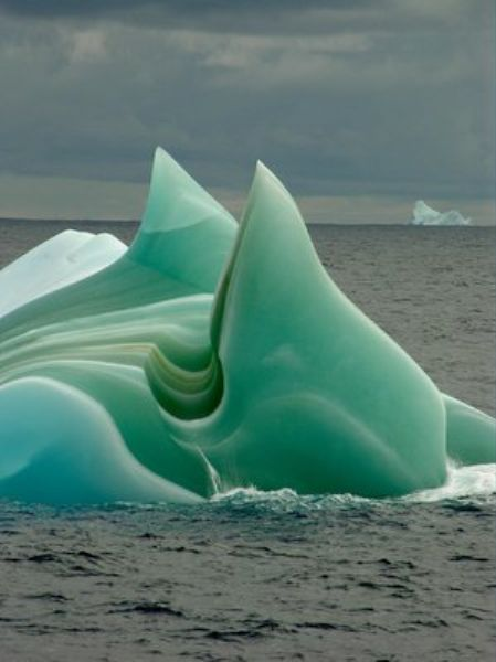 Striped icebergs in Antarctica, photographed by Steve Nicol. Find amazing expedition style trips here: http://www.awin1.com/awclick.php?mid=2651&id=119939