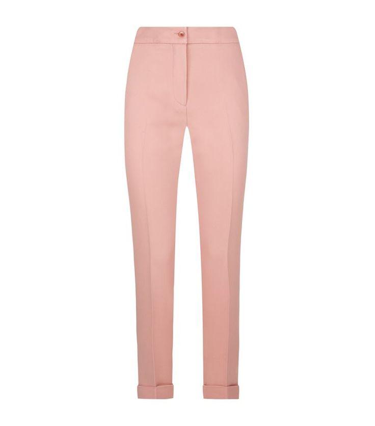Women: Tailored Trousers Etro Tailored Capri Trousers