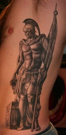 St florian tattoo designs saint florian for mark for Italian warrior tattoos