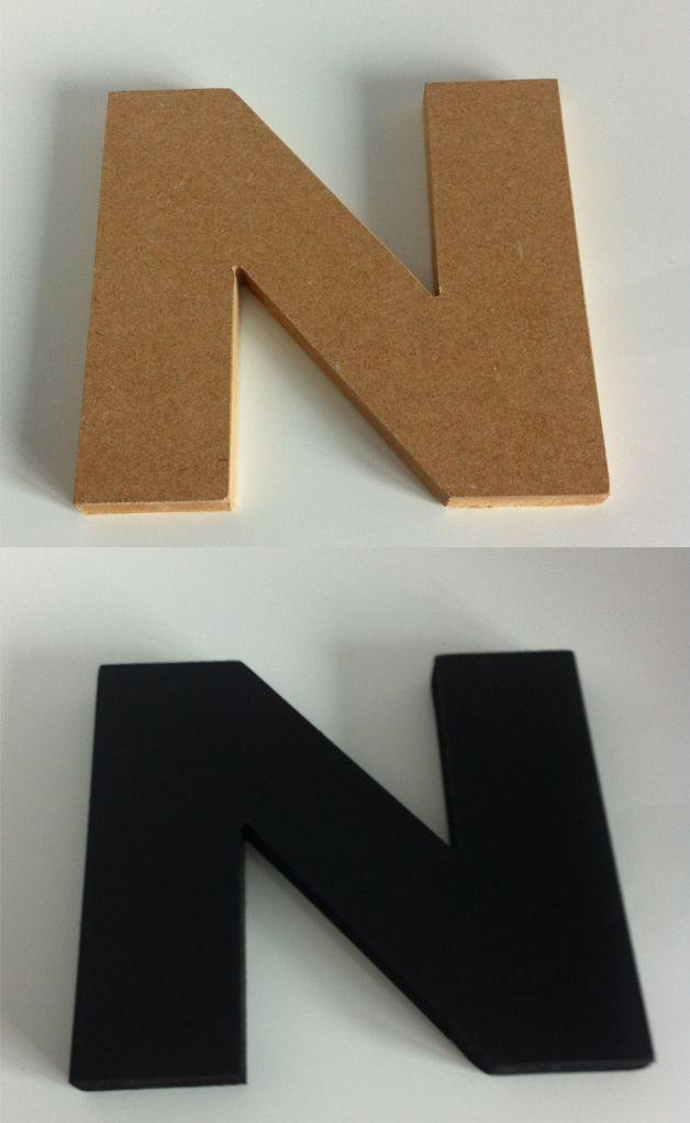 lettere in legno mdf : ... Lettere Di Legno su Pinterest Lettere Dipinte, Lettere Di Legno e