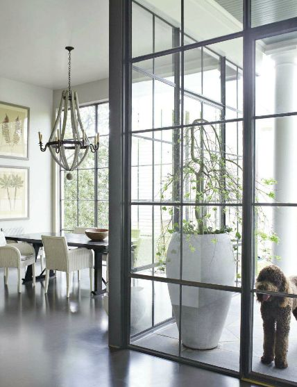 Wall to Wall, Ceiling to Ceiling Steel Case Windows