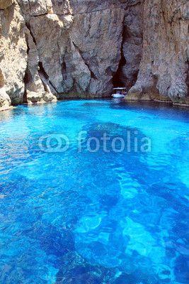Marettimo caves - Sicily - Italy