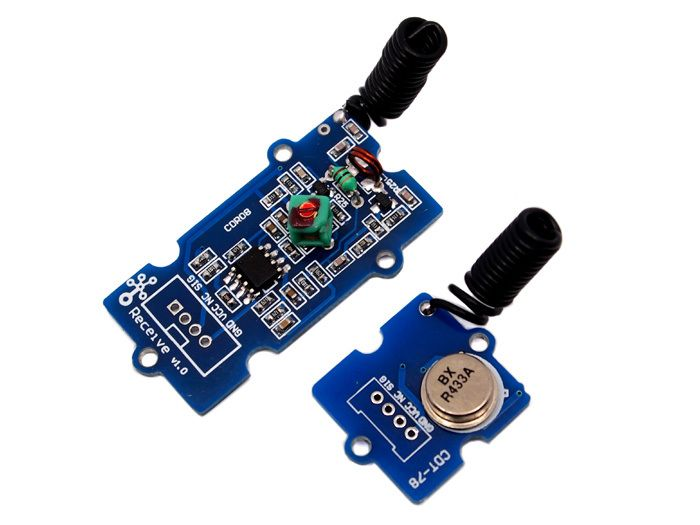 Grove - 433MHz Simple RF link kit for arduino