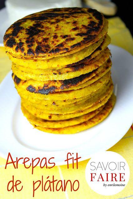 Savoir Faire: Receta de arepas de plátano con queso blanco