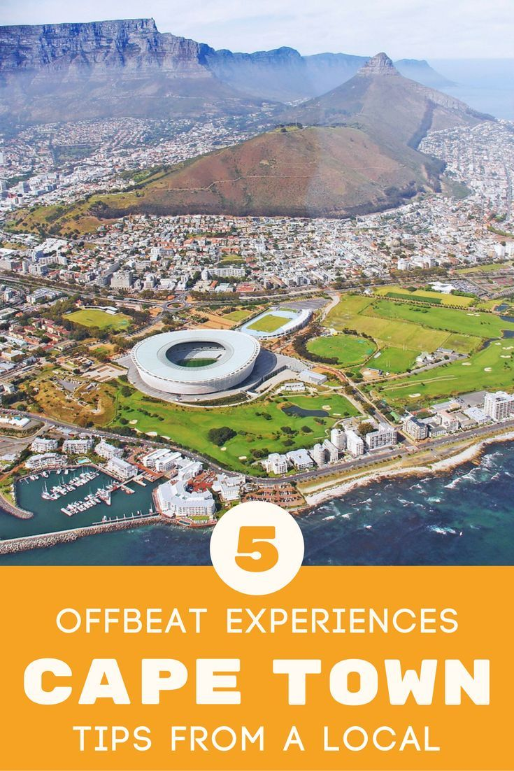 5 unique things to do and see in Cape Town, South Africa over and above the usual Table Mountain, V&A Waterfront, and Robben Island experiences. A local's guide to the city. Travel in Africa. | Travel Dudes Travel Community #CapeTown #SouthAfrica
