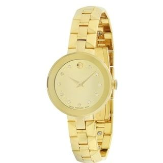 Movado Sapphire Ladies Watch 0606816   Overstock.com Shopping - The Best Deals on Movado Men's Watches