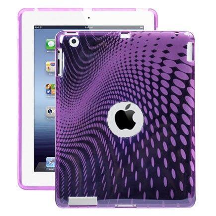 Electron Wave (Lilla) iPad 3 / iPad 4 Cover