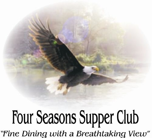 Four Seasons Supper Club & Resort - This is where to find succulent baby back ribs, baked to perfection with a secret sauce recipe, scrumptious broasted chicken, USDA choice filet mignons, New York strips, and rib eyes served on hot, sizzling platters with lightly sauteed fresh mushrooms, a pleasing variety of broiled, sauteed or deep-fried seafood, the #1 original Northern Wisconsin fish fry and much more. For your dining pleasure we offer a smoke-free bar and dining room.