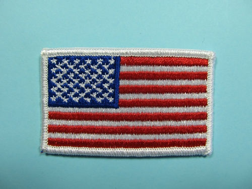 iron on flag patches