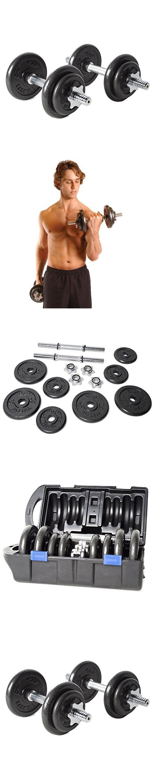 Powerblock classic adjustable dumbbell set reviews - Cap Barbell 40 Pound Adjustable Dumbbell Set With Case