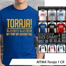 T-Shirt #MTMA #Toraja 1 CR