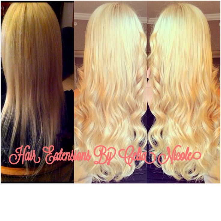 9 best blonde hair extensions images on pinterest blondes and beauty full head of russian hair fusion hair extensions short thin hair to pmusecretfo Images