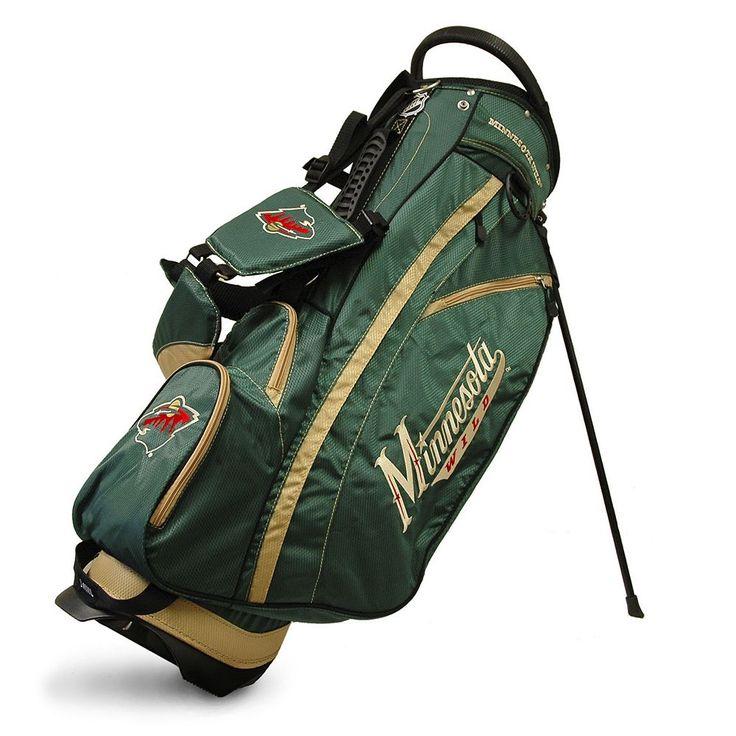 Team Golf Minnesota Wild Fairway Stand Bag, Multicolor