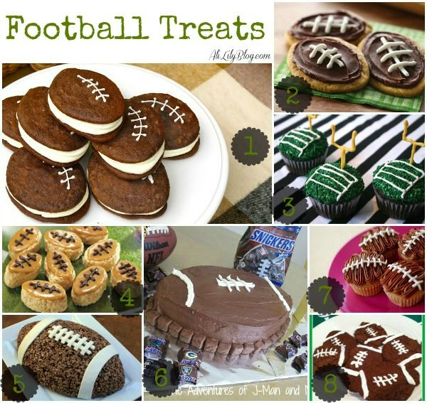 Super Bowl football Treat Ideas #MealsTogether