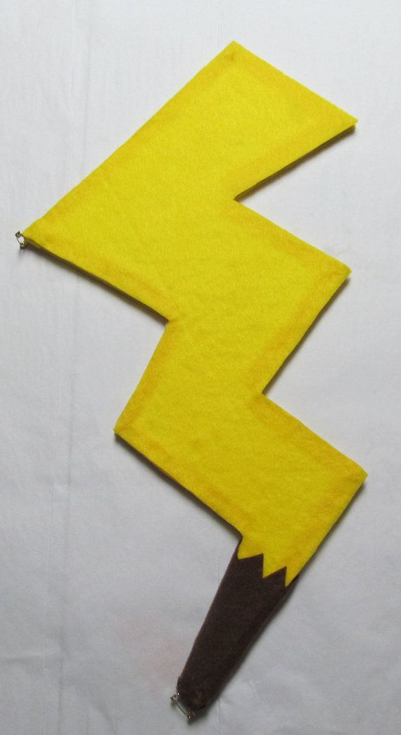 25 unique pikachu tail ideas on pinterest nine tails pokemon pokemon pikachu tail cosplay costume yellow electric by agypsyred pronofoot35fo Gallery